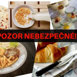 nevhodné kombinacie potravin