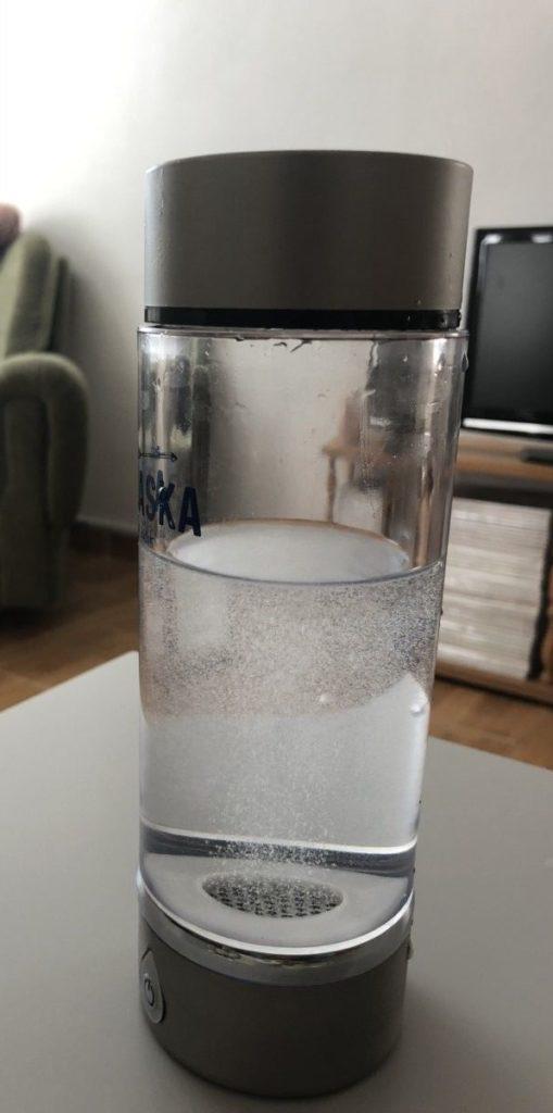 vodikova voda skusenosti