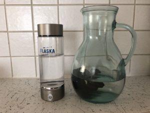 flaska - vodikova voda