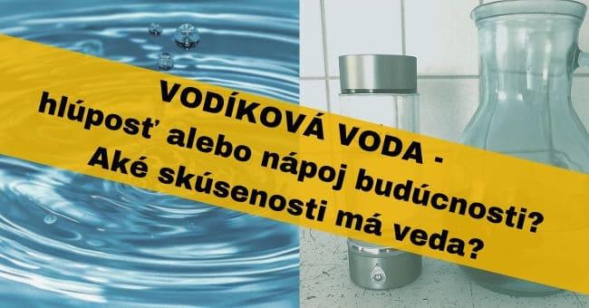 vodikova voda