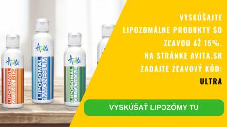 Avita lipozomálne doplnky výživy